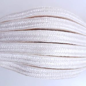 Braid Viscose Ivory 12mm