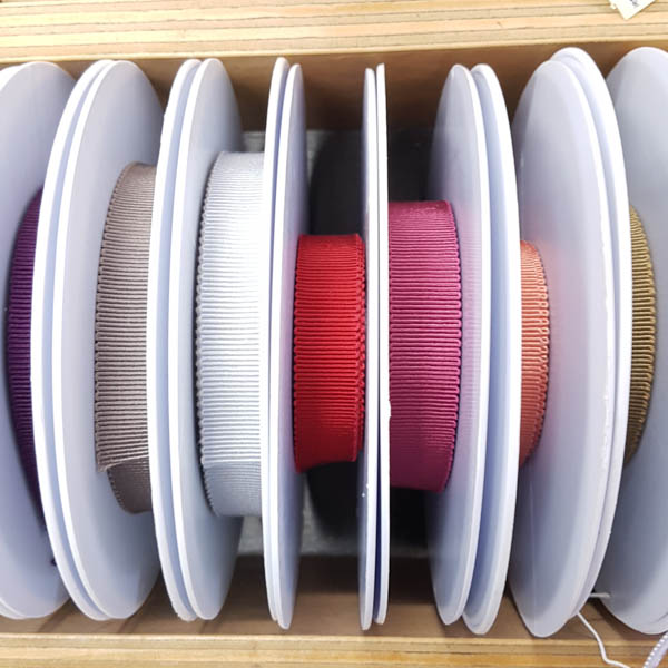 French Petersham Ribbon 15mm