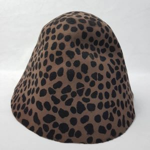 Cone Wool Printed Mink Leopard