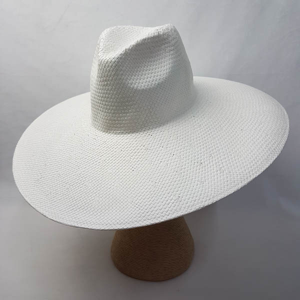 Fedora Preblocked White