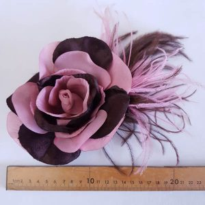 Rose Two-Tone with Ostrich Pink and Brown