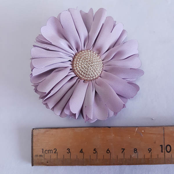 Daisey with Metal Centre 9cm