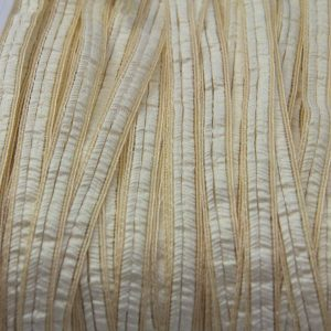 Crin and Paper Braid Gold and Ivory 10mm