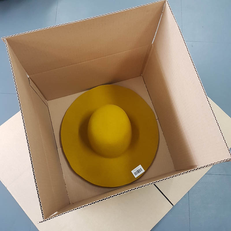 Hat Pacakging Box with hat