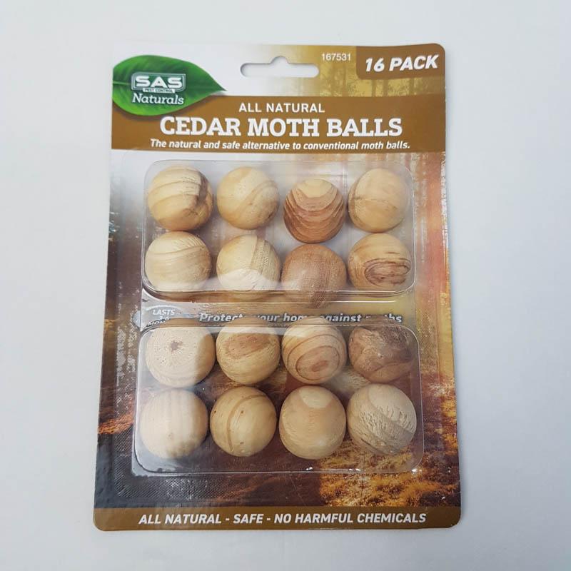pack of 16 cedar balls