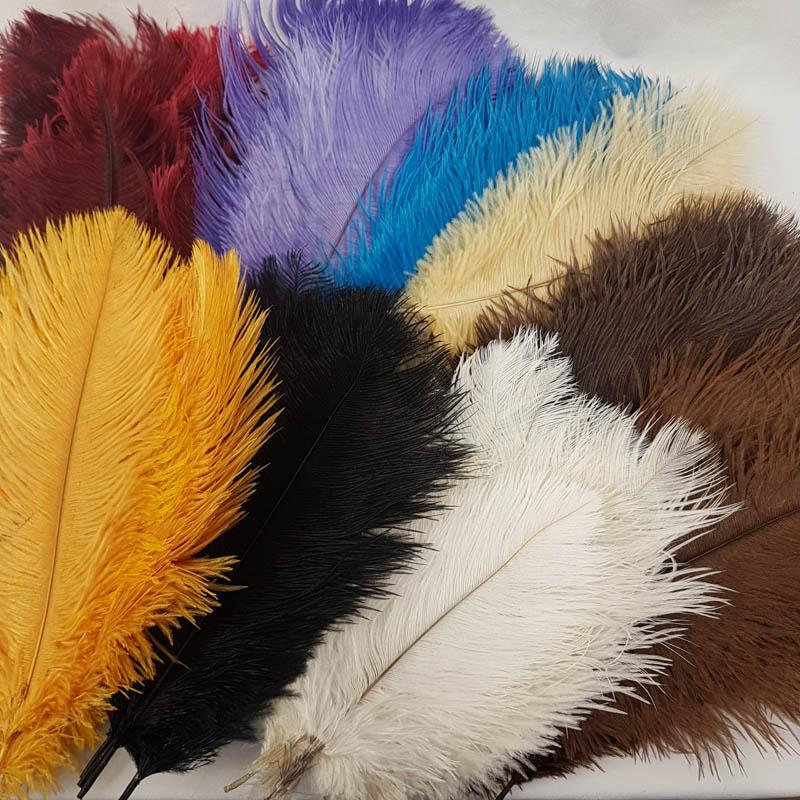 ostrich feather 20-30cm