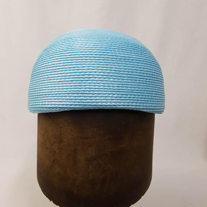 Poly Braid Dome Pale Blue